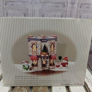 Dept 56 santabear toy shop 05825 NEW village xmas